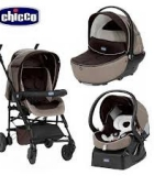Chicco trio living smart 3в1 коляска